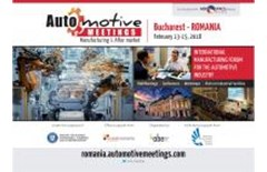 Automotive Manufacturing Meetings Romania, eveniment internațional pentru dezvoltarea industriei automotive